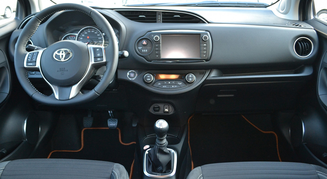 New Yaris Interior