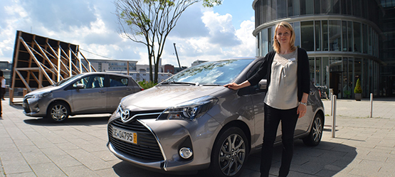 2014 Toyota Yaris. Συνέντευξη με την Fiona Coulter