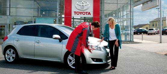 Toyota servis kontakt