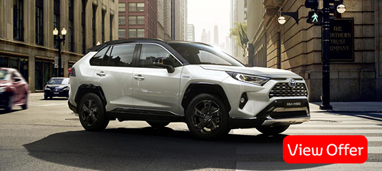 All-new 2019 RAV4 Hybrid from €36,900 or from €291 per month**