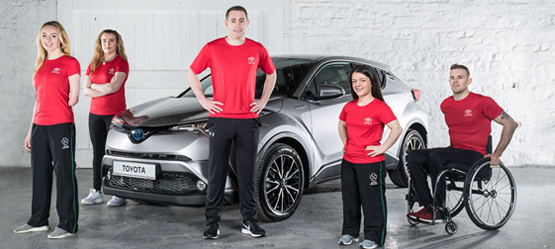 Toyota Becomes Official Partner of Paralympics Ireland