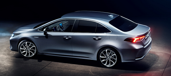 New Corolla Saloon Hybrid unveiled at the China Motorshow