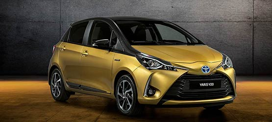 Toyota Celebrates 20 Years of Yaris with Limited Edition Y20