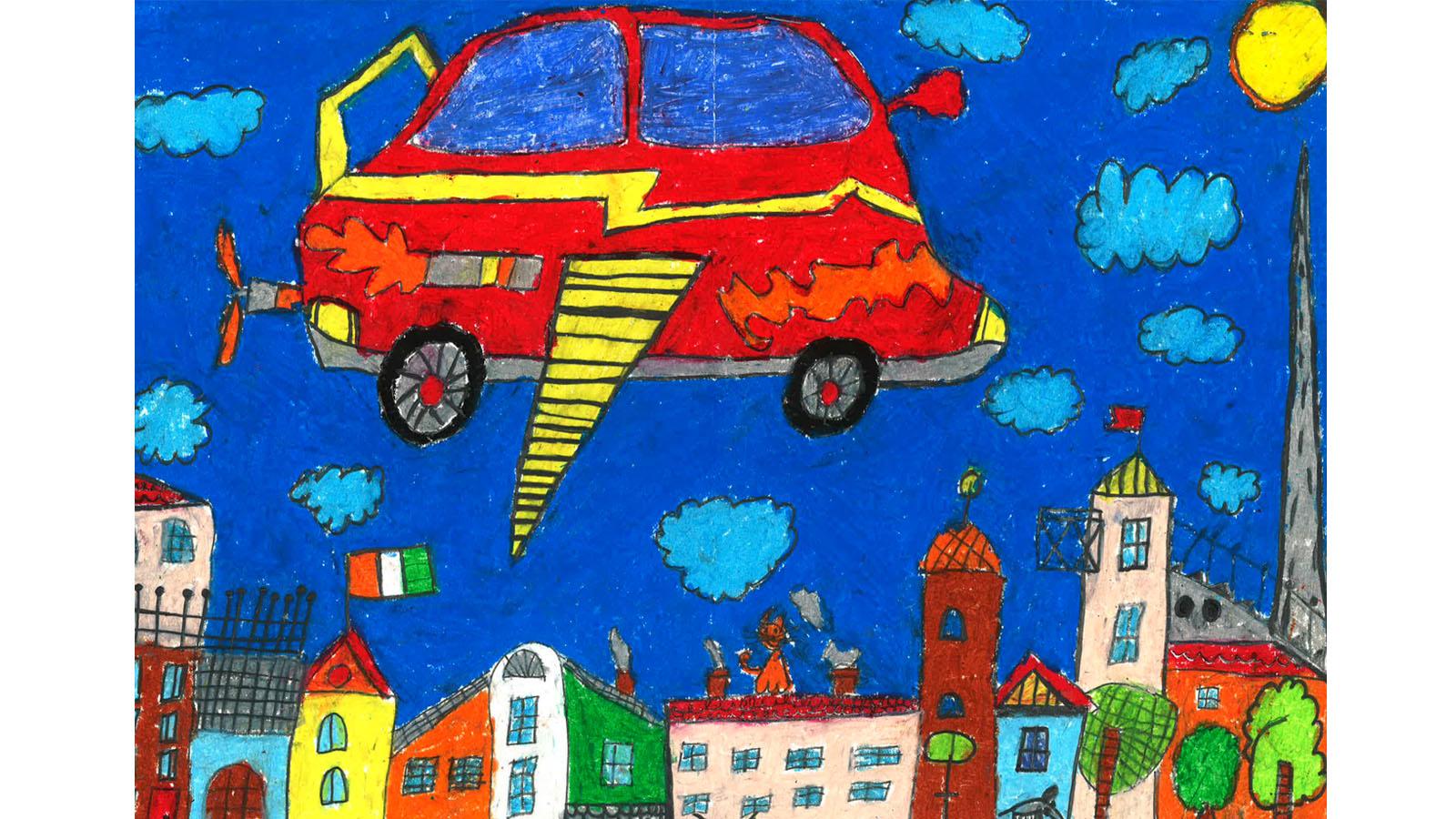 toyota ireland announces dream car art contest finalists