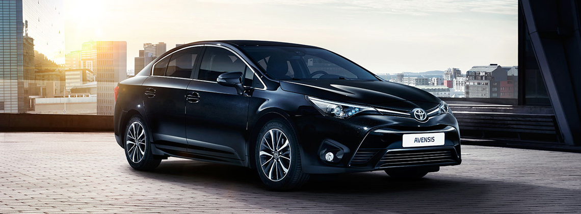 Toyota launches the new Avensis with Toyota Safety Sense