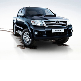 Personalise to create your perfect Hilux