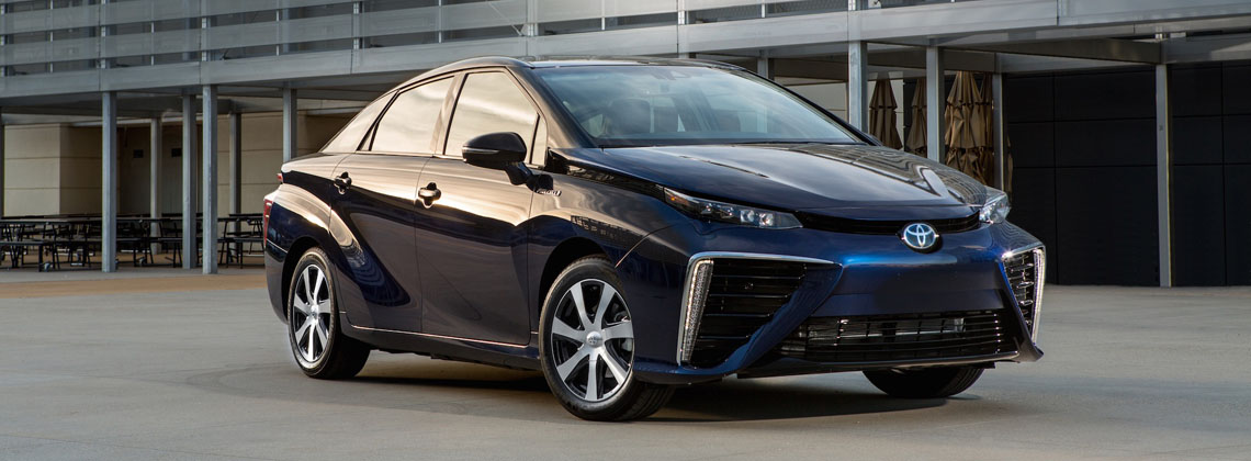 Toyota Opens Its Fuel Cell Vehicle Patents for Free Use