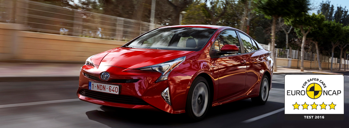New Prius Awarded Five-Star Euro NCAP Safety Rating