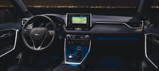 The All-New 2019 Toyota RAV4 Self-Charging Hybrid   Toyota ...