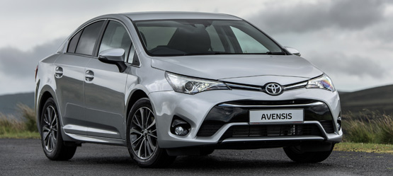 Drive a New Avensis from €277 per month*