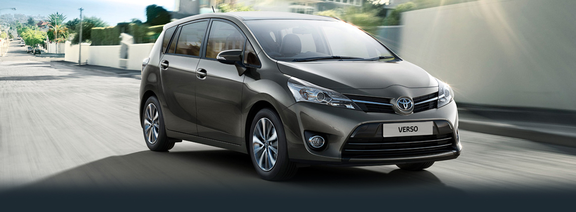 Verso 7 seater now with Toyota Safety Sense as standard