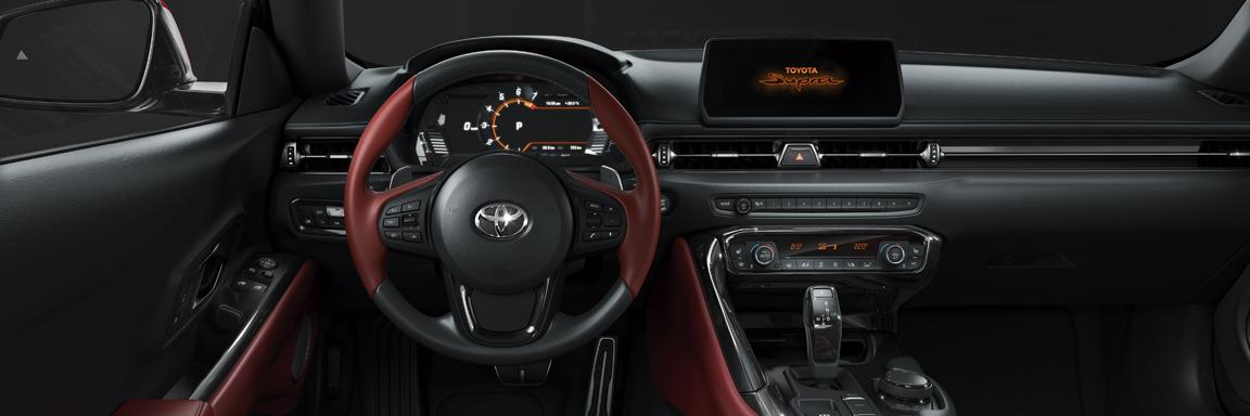 Toyota GR Supra interni