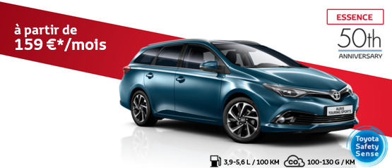 Auris Touring Sports 1.2 Turbo Essence Comfort avec pack 50th Anniversary