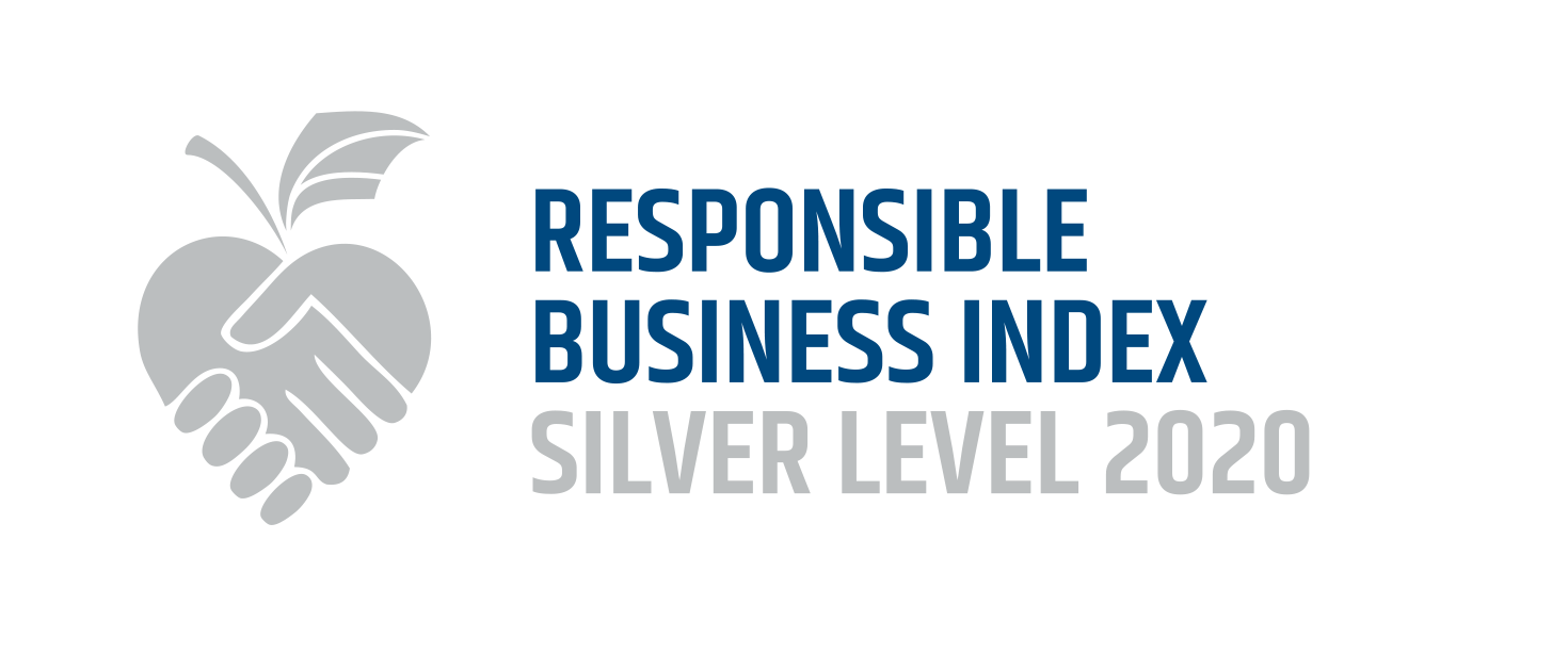 Responsible Business Index Silver Level 2020 logo