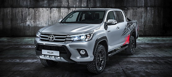 Izložbeni model Toyota Hilux 'Invincible 50'