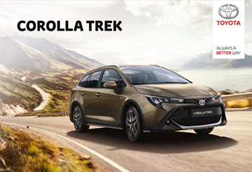corolla-trek - Model Brochure