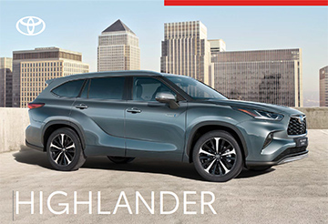 Highlander - Model Brochure