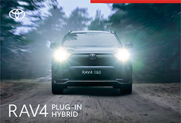 RAV4 Plug-in Hybrid - Model Brochure