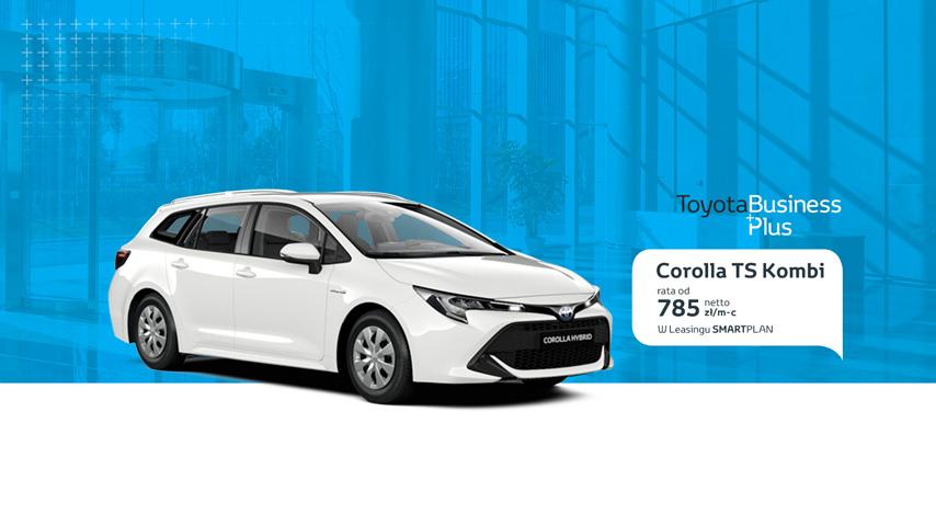 Rewelacyjny Toyota Radość - Toyota BusinessPlus – samochody dla dużej firmy i QT96