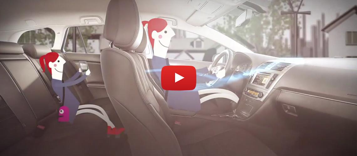 Підтримуйте свою Toyota у формі, справною і свіжою завдяки повітряним фільтрам салону Toyota