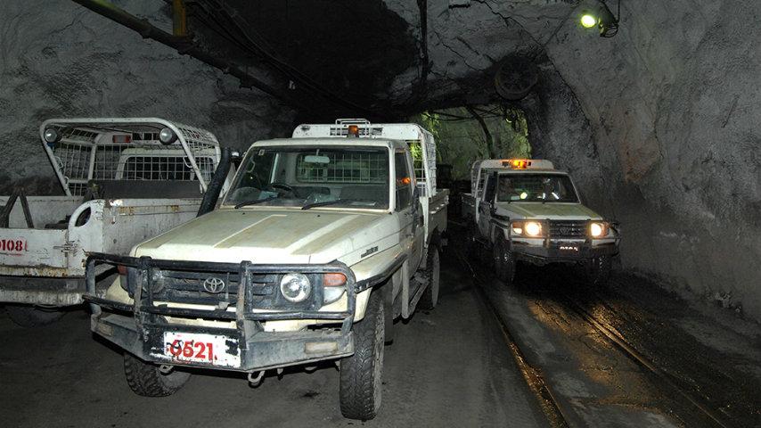 Транспортування в австралійських шахтах